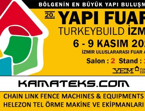 20. İZMİR BUILDING FAIR 06 – 09 NOWEMBER 2014